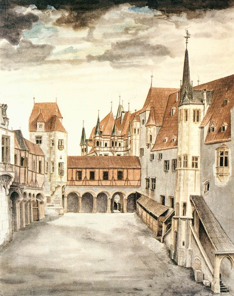 courtyard-of-the-former-castle-in-innsbruck-with-clouds-1494