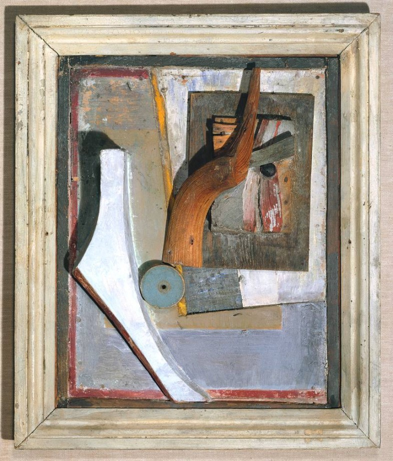 (Relief in Relief) circa 1942-5 Kurt Schwitters 1887-1948 Purchased 1970 http://www.tate.org.uk/art/work/T01259
